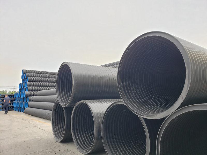 快来看,给大家分享HDPE缠绕结构壁管的性能特点了