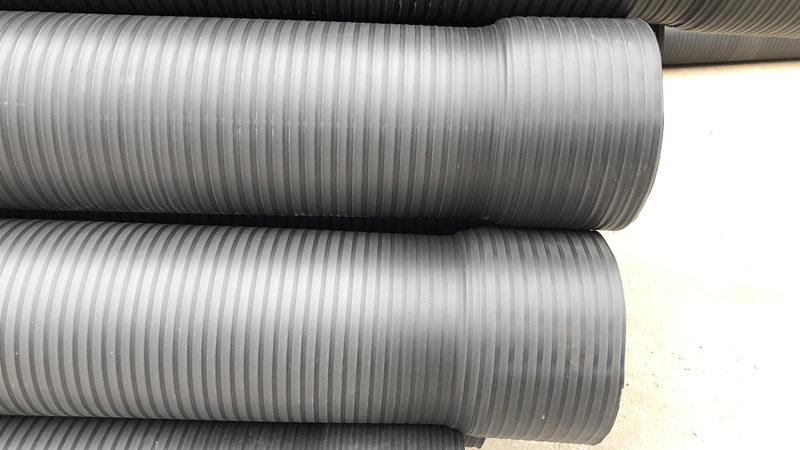 缠绕结构壁管生产