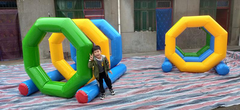 儿童充气趣味运动器材