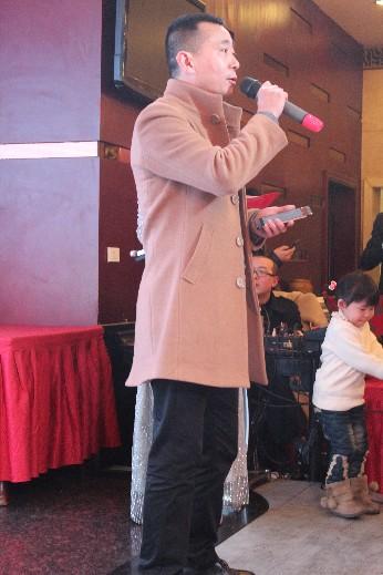 乐山博特酒店管理有限公司董事长罗成致辞