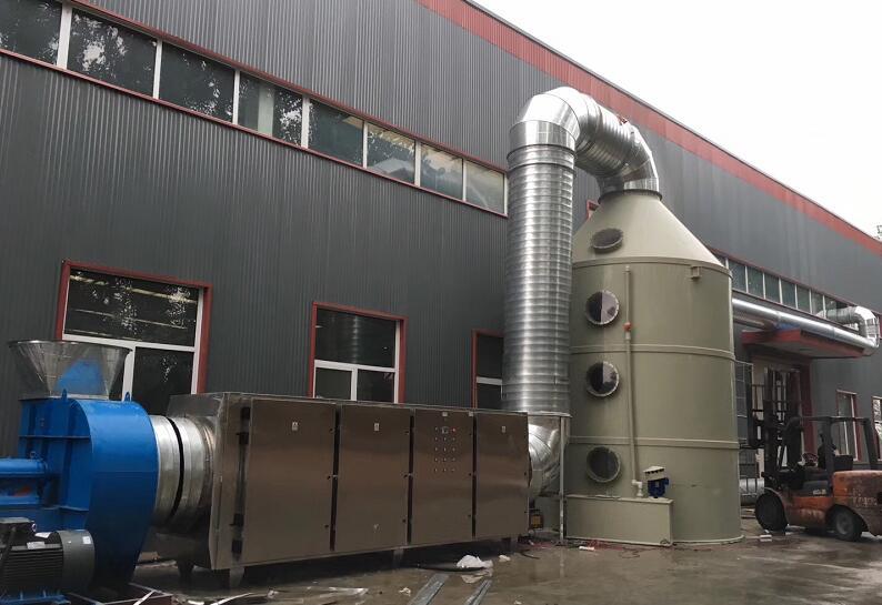 四川金龙鱼饵有限公司废气处理项目