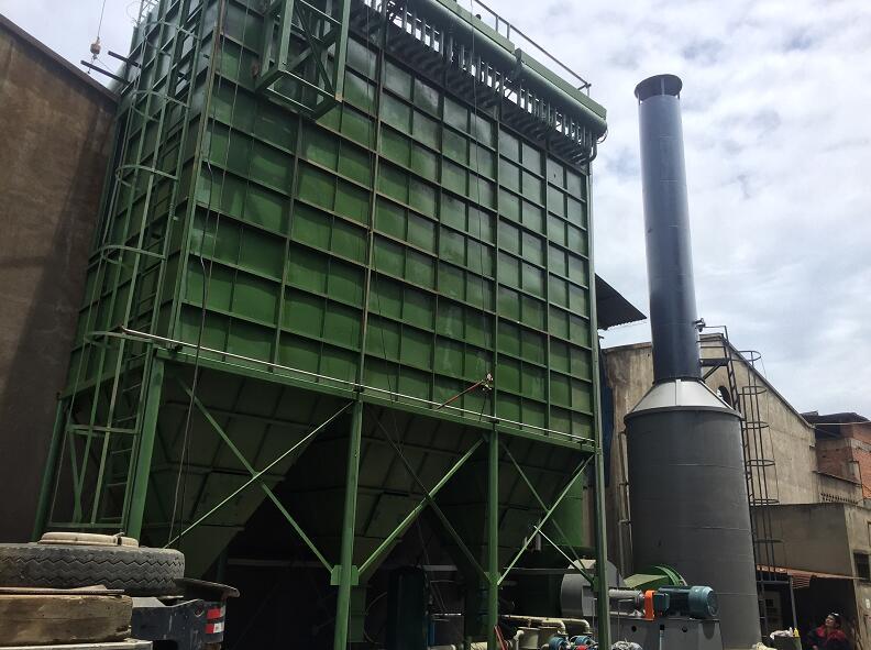 广汉勇业铸造厂冲天炉除尘脱硫项目