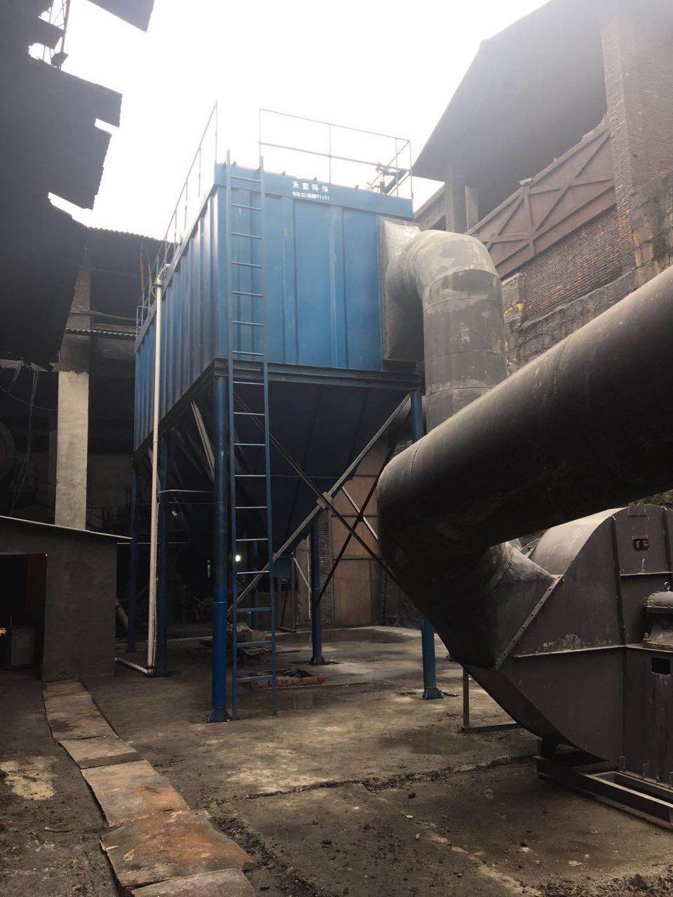 四川威远特种耐火材料2套45000m3/h除尘项目