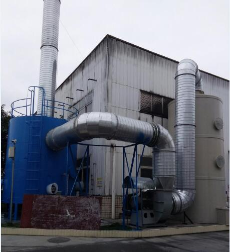 成都深漆寶化工有機廢氣處理(超低排放)項目