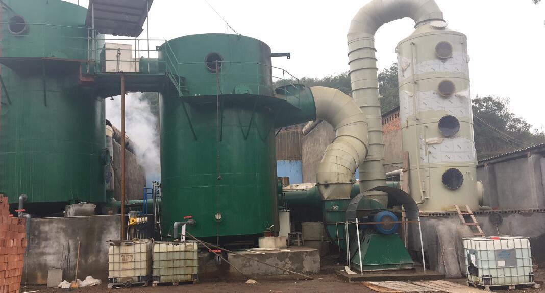 四川龍星磚廠除塵脫硫脫硝(超低排放)項目