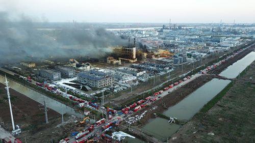 江苏响水爆炸大坑废水已转移4000多吨
