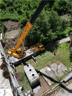 黃龍***風景名勝區垃圾處理廠災后恢復重建工程案例