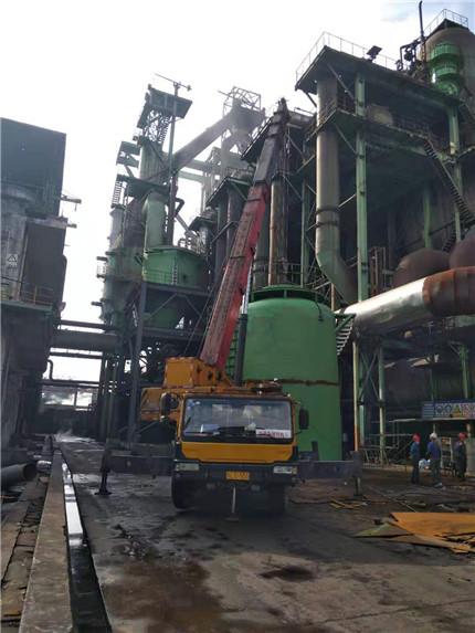 四川德勝集團釩鈦有限公司煉鐵廠3#高爐旋風除塵器項目