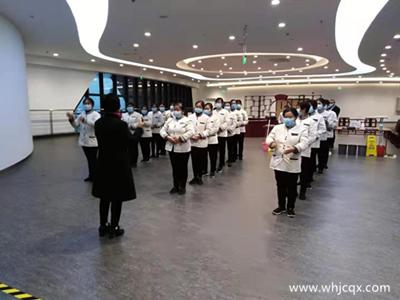 江城清洗襄阳图书馆项目开展保洁技能大比拼活动