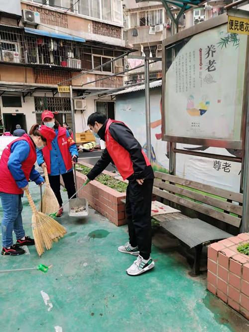 """江城清洗參加""""學雷鋒 在行動""""志愿服務活動"""