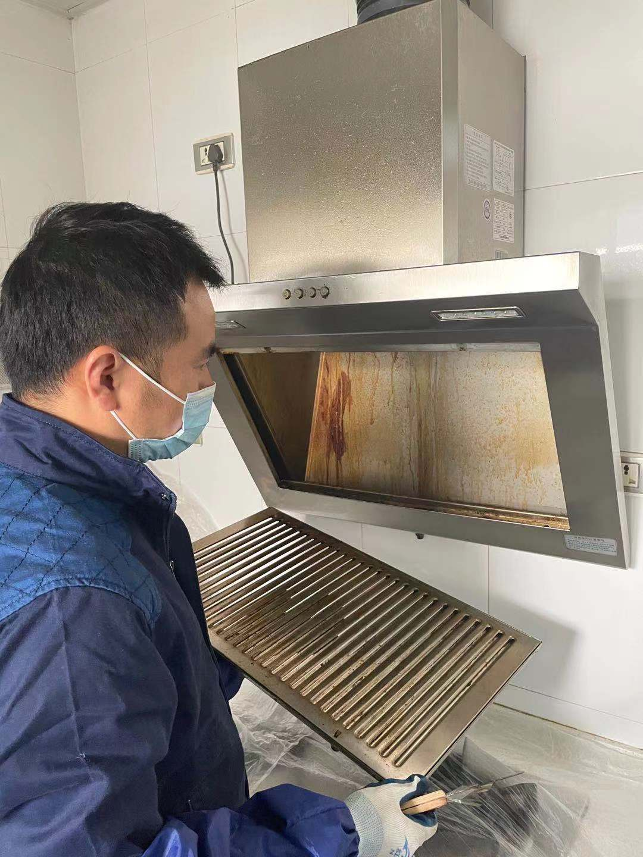 武汉家庭保洁介绍油烟机清洗小常识