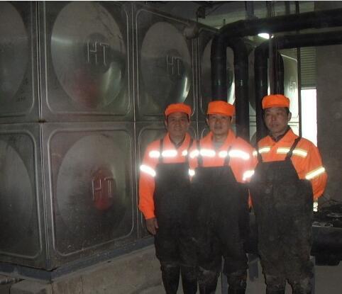 武汉市检查院、武汉市国税局水箱清洗