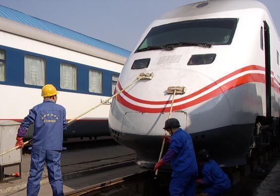 武漢鐵路局動車保潔