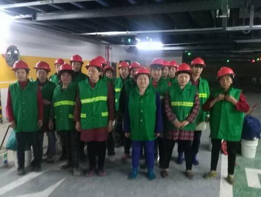 武汉商场日常保洁服务流程及形式