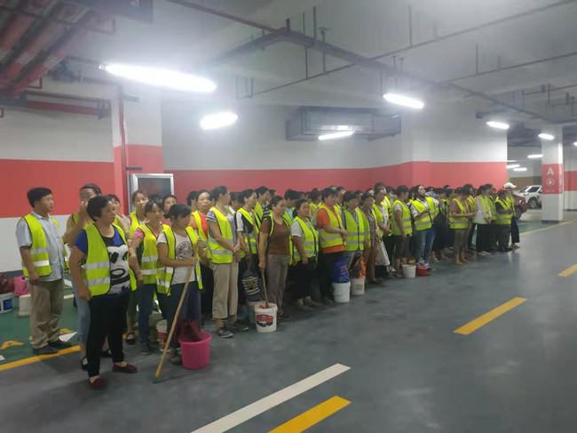 武漢開荒保潔—華中科技大學案例