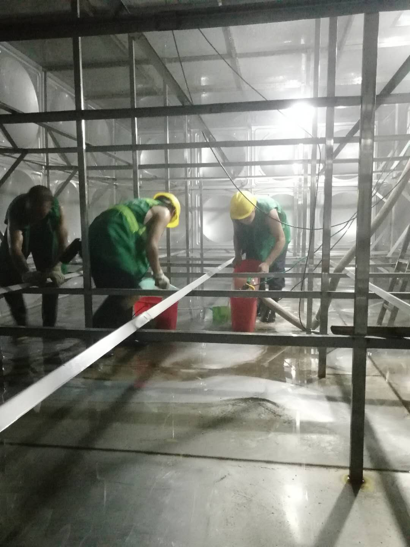 武漢水箱清洗—光谷國際會展中心案例