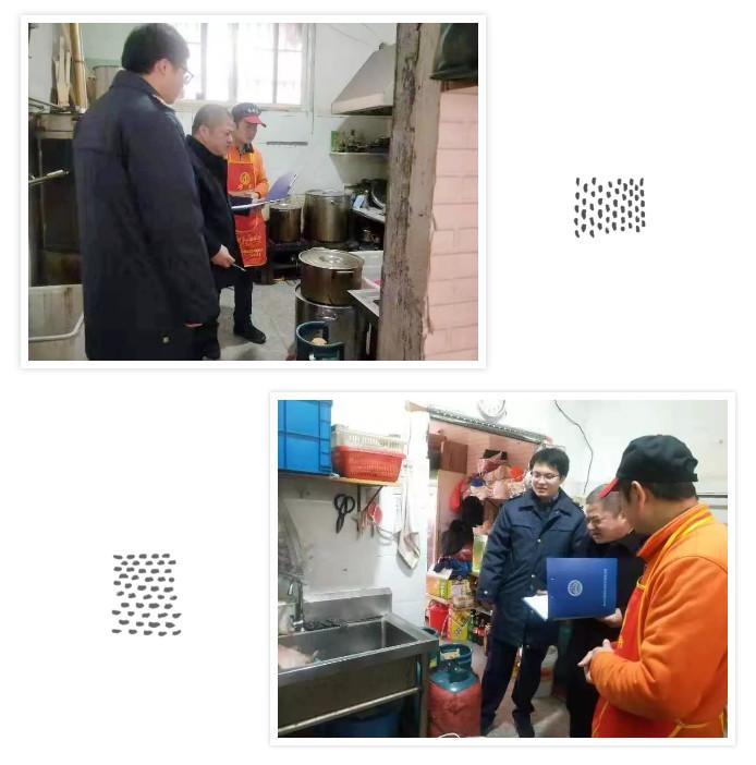 【生态文明】镇执法部门开展餐饮店铺油水分离器监管专项行动