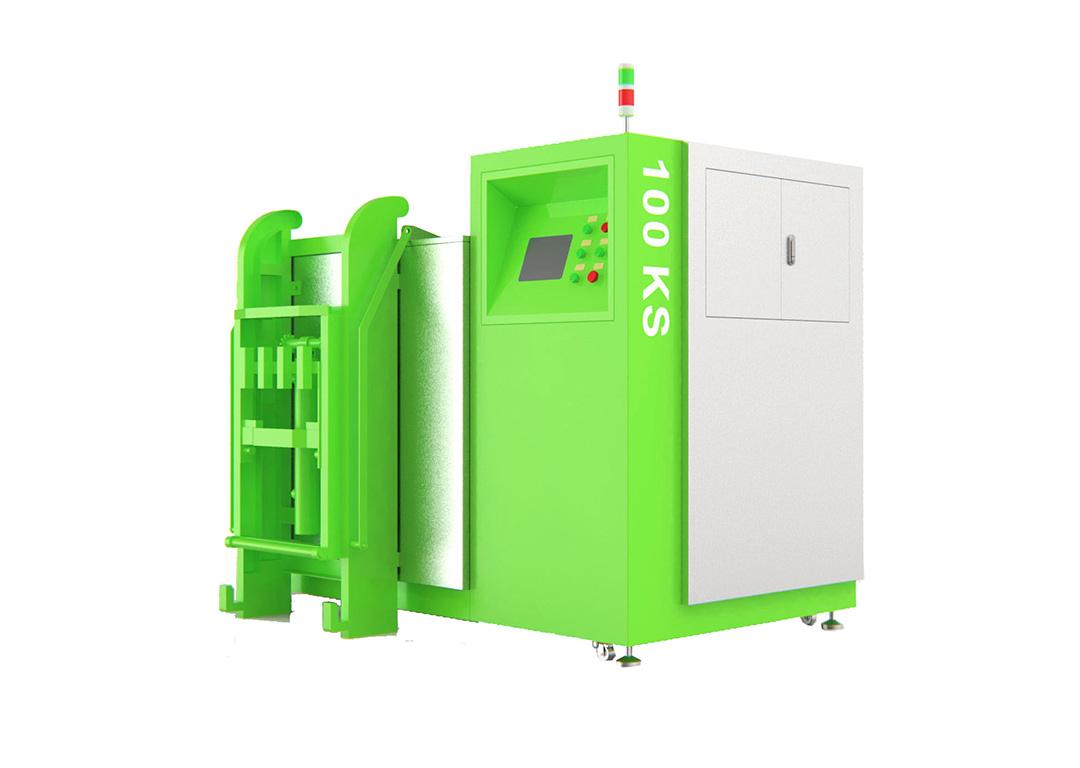 100KG餐厨垃圾生物降解设备