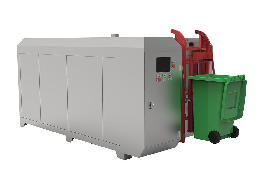 500KG餐厨垃圾生物降解设备