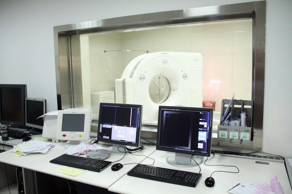 CT控制室