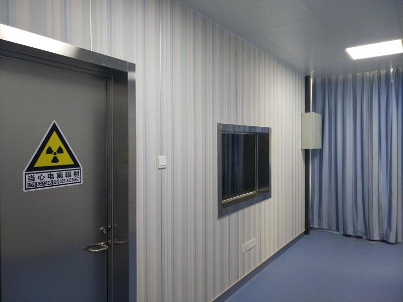 防护门安装案例