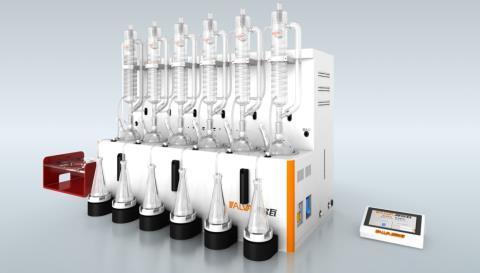 全自动蒸馏仪---Smart D6