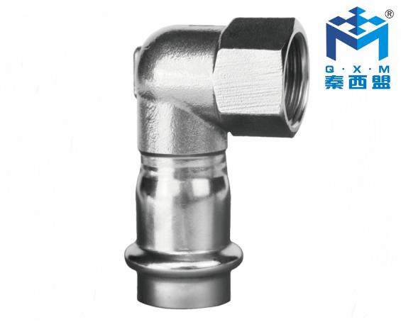 304不銹鋼水管-90°內絲短彎頭