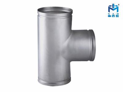 304不锈钢水管-沟槽式等径三通