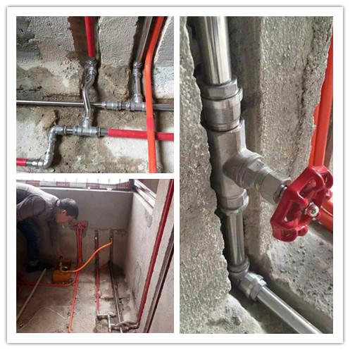 不锈钢水管安装图