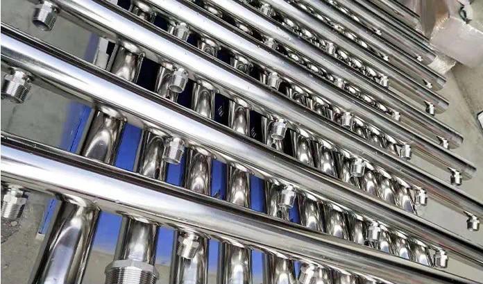 304不锈钢地暖分水器厂家