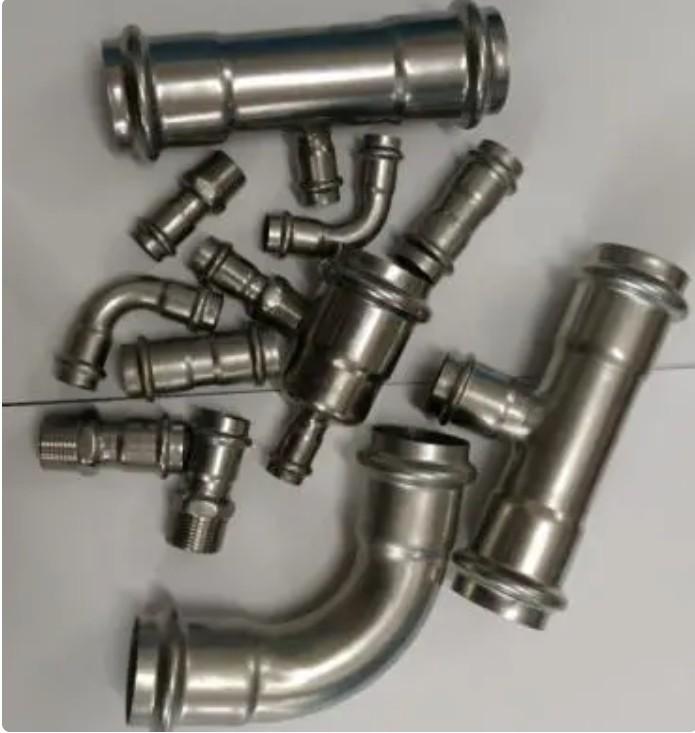 卡压式不锈钢管件有什么优势?卡压连接更好吗?