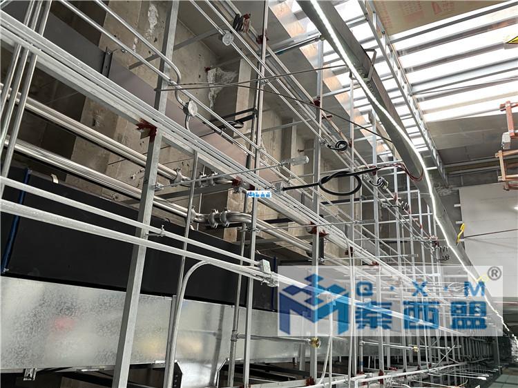 西安曲江希尔顿嘉悦里酒店-304不锈钢水管安装工程完美竣工