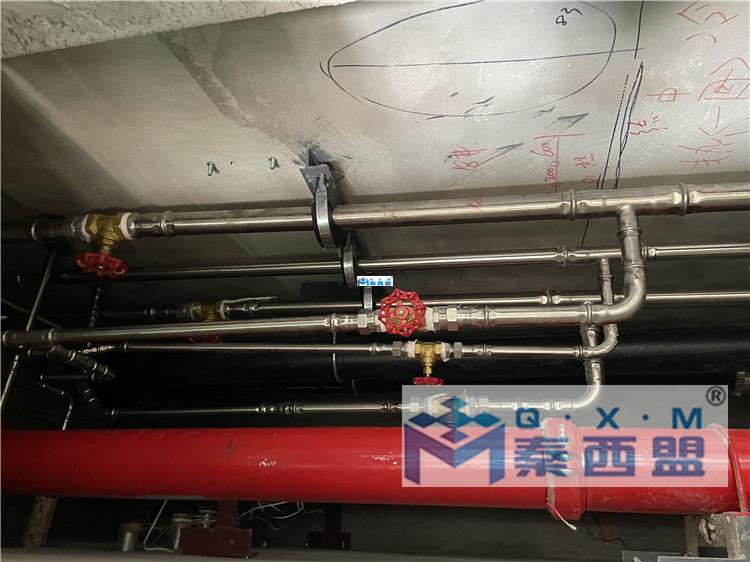 是不是只有土豪才配装不锈钢水管?秦西盟水管,你值得拥有!