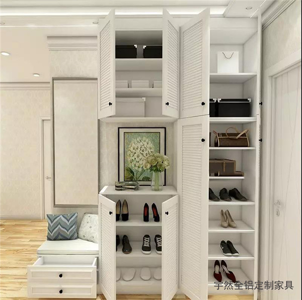 延安全铝鞋柜
