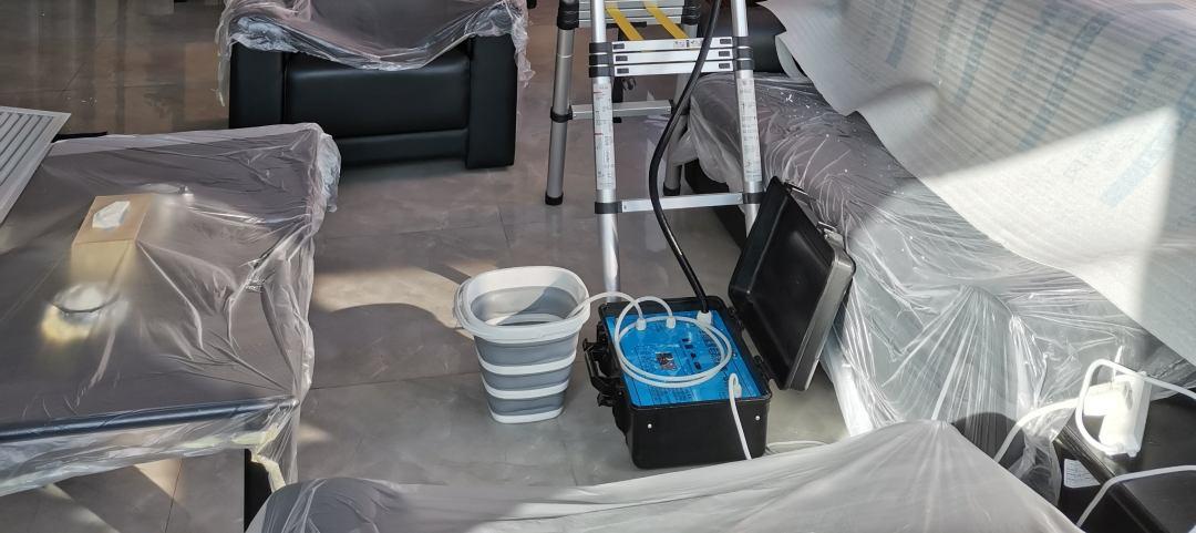 西安家用柜式空调内机深度清洗上门服务——西安中央空调清洗服务