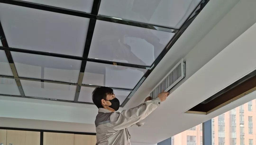 西安中央空调维修清洗