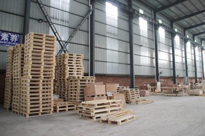 木托盘生产车间