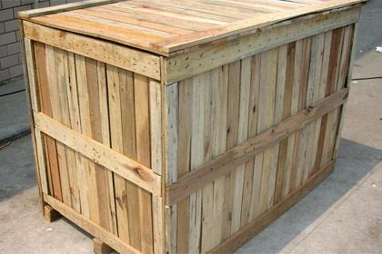 出口木质包装箱