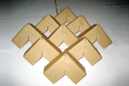 陕西纸护角生产