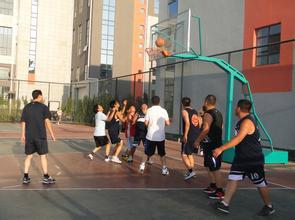 雅胜员工篮球活动