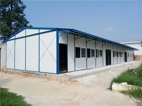 成都钢结构活动板房是如何安装的?