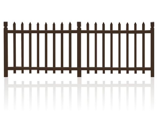 彩板花园围墙护栏