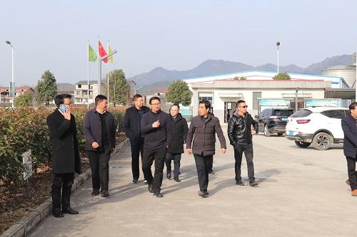 陝西省科技局蒞臨我企業調研參觀