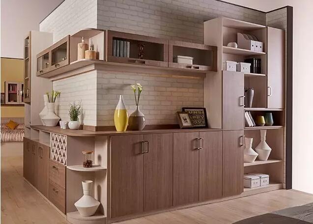 转角成都储物柜这样设计,让家更充实