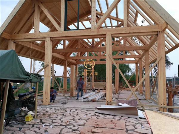 山西重型木屋施工