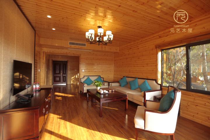 大熊山轻型木屋别墅