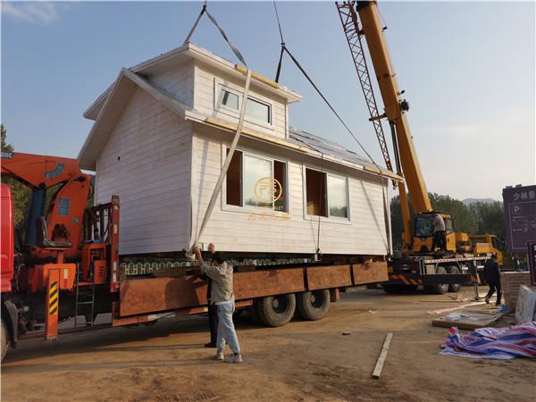 少林寺移动木屋