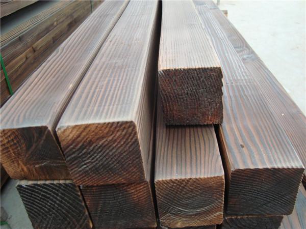表面碳化木