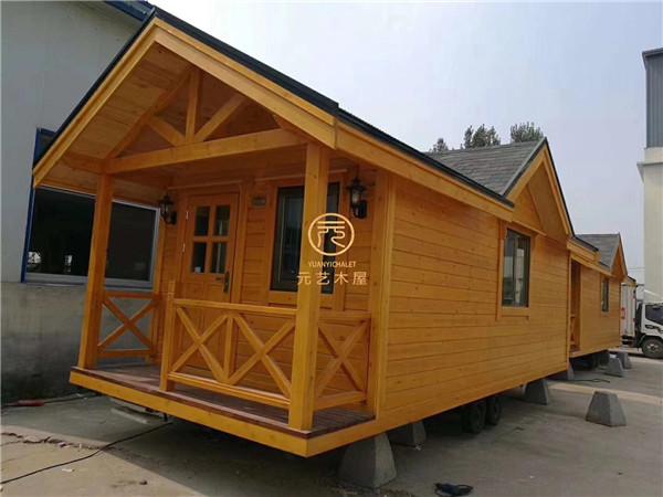 移动木屋房车制造充满大智慧,你想拥有吗