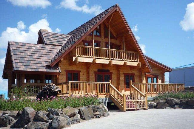 淳朴典雅的河南木屋你想拥有吗?
